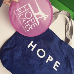 Limited Edition Hope Pilates Tote Bag