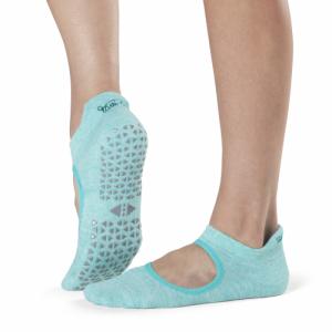 Tavi Noir Emma Grip Socks in Surf